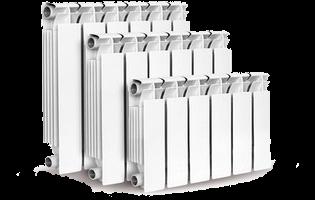 Радиаторы биметаллические и монтажные комплекты